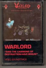 WARLORD: AND THE CANNONS OF DESTRUCTION HAVE BEGUN CASSETTE HEAVY METAL