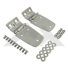 Hood Hinges Stainless Jeep Wrangler TJ 1997-2006 Rough Trail RT34057