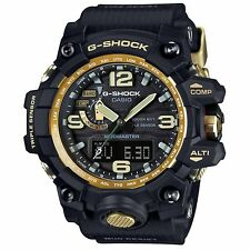 Casio G-Shock GWG-1000GB-1A DR Mudmaster Triple Sensor Men's Watch Black Gold