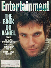 DANIEL DAY-LEWIS Entertainment Weekly January 28, 1994 1/28/94 B-1-3