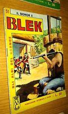 GLI ALBI DEL GRANDE BLEK #  51-BLEK LE ROC -LIBRETTO-ORIGINALE-1964