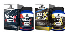 Men's Health Bundle: TestX Core (60 capsules) & NO Max Shred (60 capsules)
