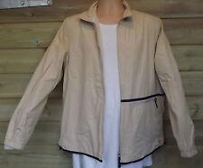 Timberland Weathergear Lightweight Cotton Bomber Jacket - Beige - L - c2003