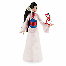 "NEW Disney Store Mulan Classic 12"" Doll with Mushu Figure"