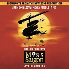 Miss Saigon Highlights From The New 2014 Production CD NEW SEALED OCR