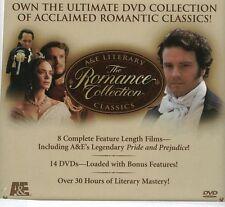 A&E Literary Classics Romance Collection BBC British Television 8 Titles 14 DVD