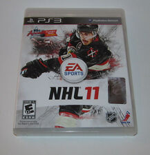 NHL 11 (Sony Playstation 3, 2010) PS3 Complete CIB Game Good Shape FREE SHIPPING