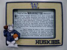 Washington University Huskies College Mascot Picture Frame by Talegaters