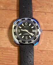 Vintage Belair Diver Watch 10 ATM Shock Resistant 17 Jewels 1970's