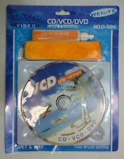 CD DVD VCD Player Cleaner Dirt Dust Remover Restore Disc Repair System