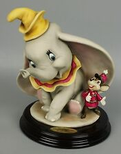 "Giuseppe Armani Disney Figurine 1991C ""Dumbo and Timothy"" MINT WorldWide"