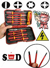 13PC VDE ELECTRICIANS INSULATED POZI FLAT TORX CHANGEABLE SCREWDRIVER SET CT3794