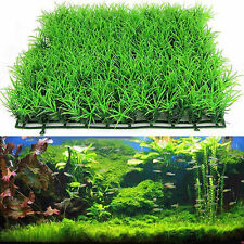 Newly Green Grass Plastic Fish Tank Ornament Plant Aquarium Lawn Decoration