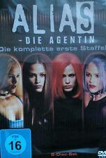 ALIAS - DIE AGENTIN - Die Komplette Staffel 1 Deutsches Kauf 6 DVD Set