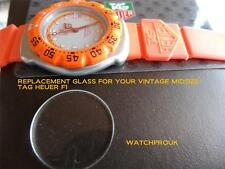 QUALITY REPLACEMENT GLASS FOR YOUR MIDSIZE VINTAGE TAG HEUER F1 FORMULA ONE