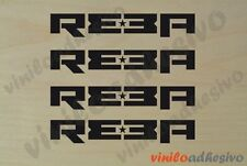 PEGATINA STICKER VINILOS bike Rock Shox Reba 4 uds