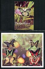 Burundi, MNH, Insects Butterflies. x23891