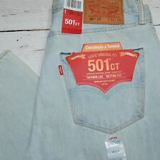 NWT LEVI'S 501CT Destroyed Light Jeans 31 / 30 501 Customized & Tapered