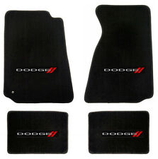 NEW! BLACK FLOOR MATS 2007-2011 Dodge NITRO Embroidered Logo Set of 4