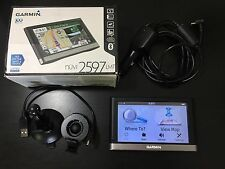 "Garmin Nuvi 2597LMT 5"" Bluetooth GPS Lifetime Maps & Traffic 010-01123-30 IN BOX"