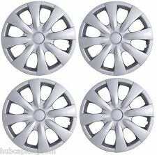"""NEW 2009-2013 TOYOTA COROLLA 15"""" 8-spoke Hubcaps Wheelcover SET of 4"""
