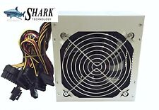 NEW 600W Quiet 120mm Cooling Fan 4/8pin ATX 12V Intel/AMD PC Power Supply Unit
