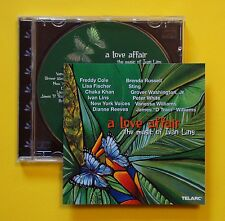 Various Artists - A Love Affair, The Music Of Ivan Lins CD (Telarc, 2000)