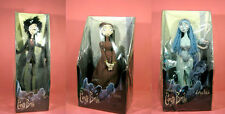 Free Shipping Victoria Emily Victor Tim Burton Corpse Bride Plush Set of 3 dolls