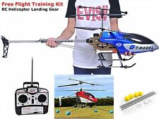 Large Outdoor Remote Control Helicopter 53 Inch RC 2 Speed 3.5 Landing Gear Gift