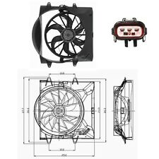 Electric Radiator Cooling Fan Fits: 2004 Jeep Grand Cherokee 4.0L W/O Towing Pkg