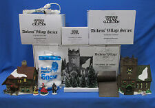Dept 56 The Spirit of Giving Dickens Village Start a Tradition Set of 13 Pieces