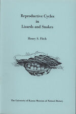 Reproductive cycles in lizards and snakes - Fitch 1970