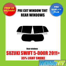 SUZUKI SWIFT 5-DOOR 2011+ 35% LIGHT REAR PRE CUT WINDOW TINT