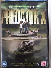 Mark Sheppard, Elena Lyons PREDATOR X | Rare UK  DVD