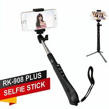 Extendable Wireless Bluetooth Shutter Selfie Stick Monopod for iPhone Samsung