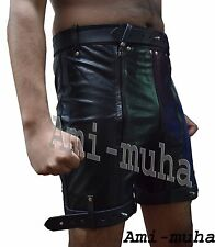 COWHIDE Leather Chastity & Jock
