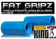 FAT GRIPZ IMPROVE FOREARM STRENGTH *GENUINE* FATGRIPZ SPORT FITNESS BAR GRIPS