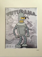 Futurama - Bender - Hand Drawn & Hand Painted Cel