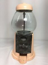 Vtg Houston's Gum Ball Machine Candy Dispenser Machine Skin tone/peach color