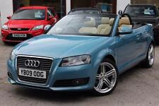 2009 AUDI A3 CABRIOLET 2.0 TDI SPORT 2DR CONVERIBLE DIESEL