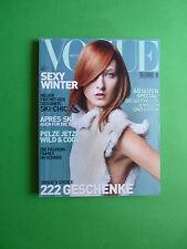 Vogue DEUTSCH November 2001 Maggie Rizer cover Germany Fashion magazine