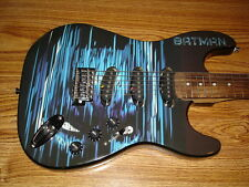 BATMAN GUITAR...SIX FLAGS GUITAR...DC COMICS...FULL SIZE...Look at Photos