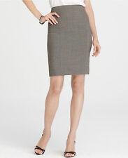 Ann Taylor Antoinette Peplum Back Skirt Size 14 NWT Safari Color