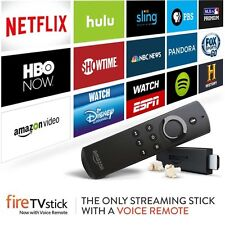 Amazon Tv Fire Stick w/ VOICE JAILBROKEN TYPE Fully Loaded Movies PPV Sports XXX