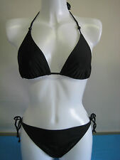 Womens Girls Pure Coral Bay Holiday Club Bikini Set Sz M 12 - 14 UK