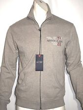 Armani jeans fleece zipper sweater jacket size large NWT