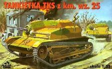 TKS (W/ HOTCHKISS MG) - WW II ARMOURED RECCE VEHICLE (POLISH MKGS 1939) 1/35 RPM