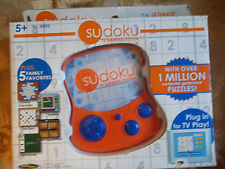 Sudoku TV Gaming System Plug and Play 2005 Techno Source New in Box Checkers