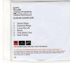 (FU830) I Am ... Chipmunk - 6 track album sampler - DJ CD