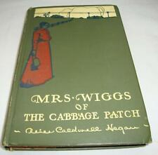 Vintage 1917 Mrs. Wiggs of the Cabbage Patch Book, Hardcover, Alice Hegan
